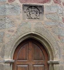 Walldorf Church door
